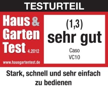CASO VC 10 Vakuumierer (1340) / 30 cm lange Schweißnaht / natürliches Aufbewahren ohne Konservierungsstoffe / inkl. 10 gratis Profi-Beutel - 2