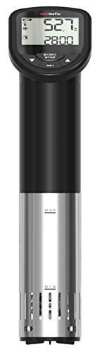 TFA Dostmann SOUSMATIC Sous-Vide Garer bis 25 Liter - 14.1550.01 (schwarz) - 6