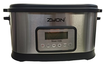 Zyon Premium-Vakuumgarer / Sous Vide zum langsamen Garen im Wasserbad, 8,5 l Fassungsvermögen; 520 W, inklusive Gestellen und Zangen - 3