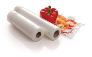 Foodsaver FSR2802-I Vakuum-Rollen 2 Stück 28x550 cm / Folienrollen für Lebensmittel / Vakuumierer - 3