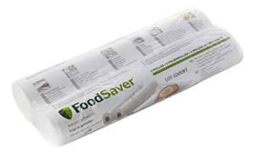 Foodsaver FSR2802-I Vakuum-Rollen 2 Stück 28x550 cm / Folienrollen für Lebensmittel / Vakuumierer - 1